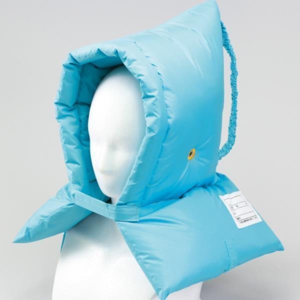 防災頭巾 水色 防災頭巾 ブルー 3976 多機能防災ずきん  (AC)(CQB27)