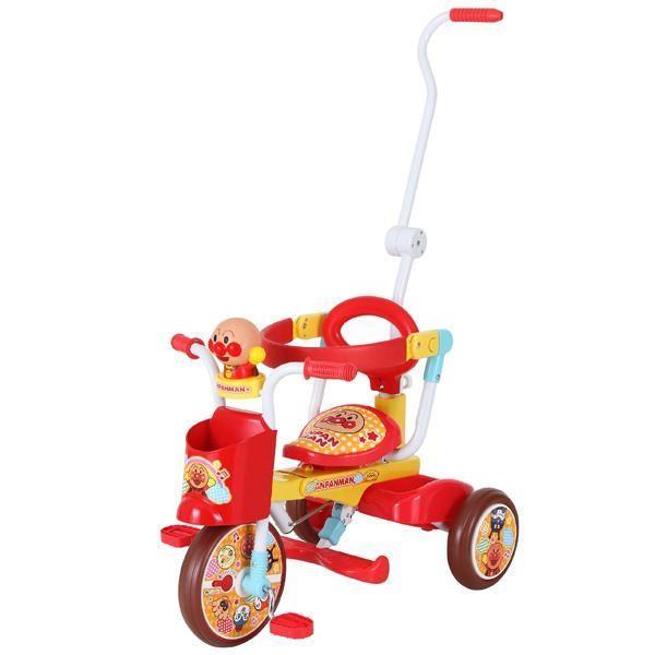 三輪車 アンパンマン 三輪車 押し棒 アンパンマン おもちゃ YA-3223 三輪車 オールインワンUP2 (アンパンマン) ※0225  (CAG)(CQB27)