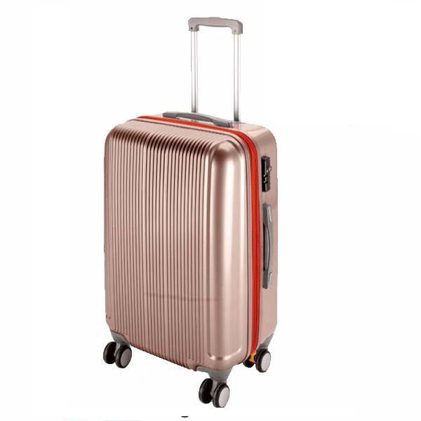 CS スーツケース(TSAロック付きダブルファスナータイプ) M/シャンパンベージュ (AP189931/UV-23)( UV-0023 )(UV-0023)(CQB27)