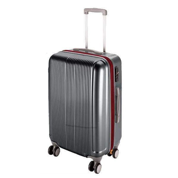 CS スーツケース(TSAロック付きダブルファスナータイプ) M/スチールグレー (AP189937/UV-29)( UV-0029 )(UV-0029)(CQB27)
