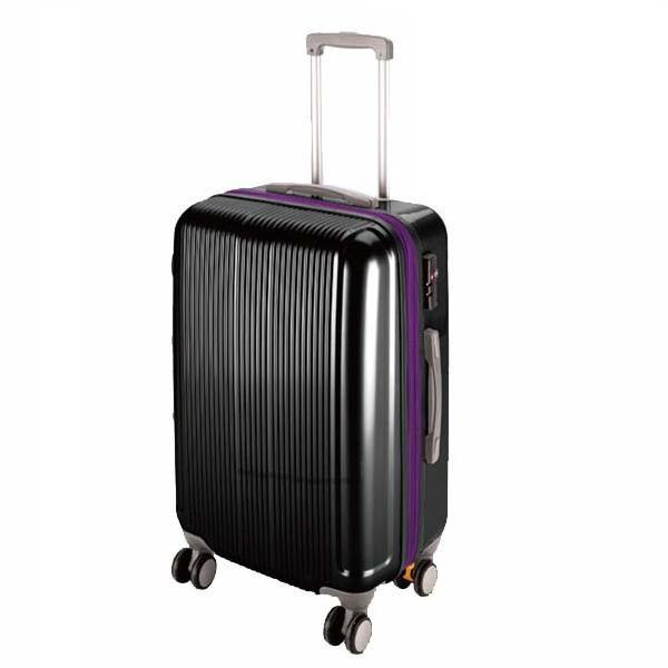 CS スーツケース(TSAロック付きダブルファスナータイプ) M/ブラック (AP189940/UV-32)( UV-0032 )(UV-0032)(CQB27)