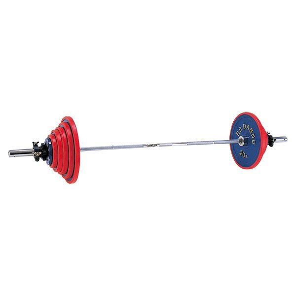 ダンベル ウエイト バーベル A220バーベル 80kgセット D-5761 特殊送料(ランク:M-1) (DAN) (CQB27)
