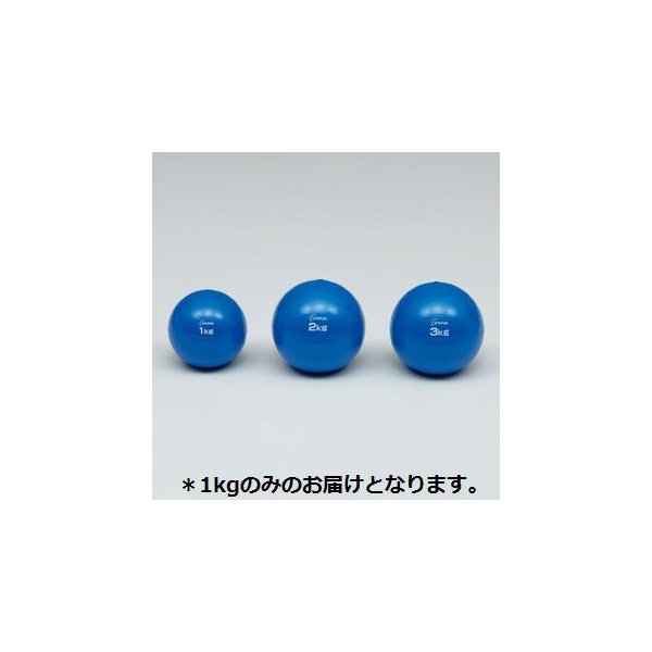 【法人限定】 ソフトメディシンボール1kg (TOL229981/H-7250)(CQB27)