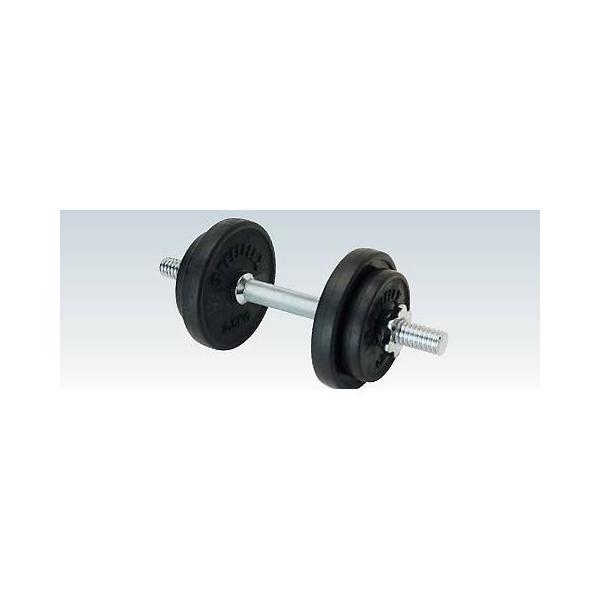 トレーニング用品 ウエイト トレーニング 練習 ラバーダンベル20kgセット ETB129 特殊送料(ランク:C) (ENW) (CQB27)