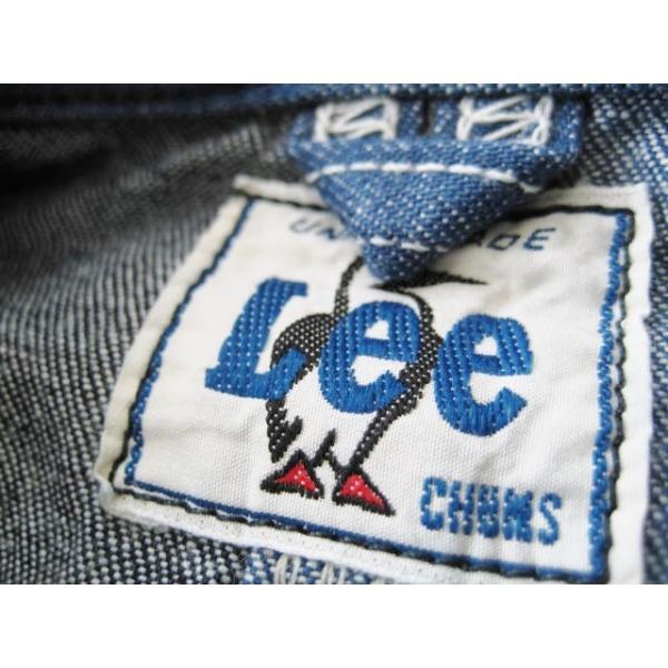 チャムス/CHUMS x Lee コラボレーション 【デニムカバーオール/プレイロコジャケット】 Play Loco Lacket CH04-1131 クレイジー fifth 07