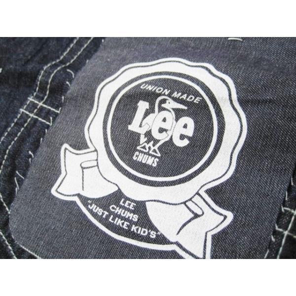 チャムス/CHUMS x Lee コラボレーション 【デニムカバーオール/プレイロコジャケット】 Play Loco Lacket CH04-1131 クレイジー fifth 08