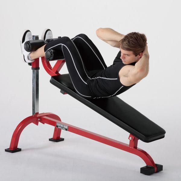 クランチベンチ−TRUST / 腹直筋 内腹斜筋 ダンベル トレーニング シットアップ レッグレイズ 腹筋 筋トレ*|fightingroad|02