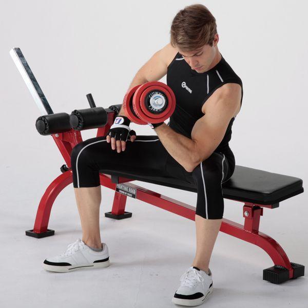 クランチベンチ−TRUST / 腹直筋 内腹斜筋 ダンベル トレーニング シットアップ レッグレイズ 腹筋 筋トレ*|fightingroad|03