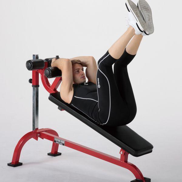 クランチベンチ−TRUST / 腹直筋 内腹斜筋 ダンベル トレーニング シットアップ レッグレイズ 腹筋 筋トレ*|fightingroad|04