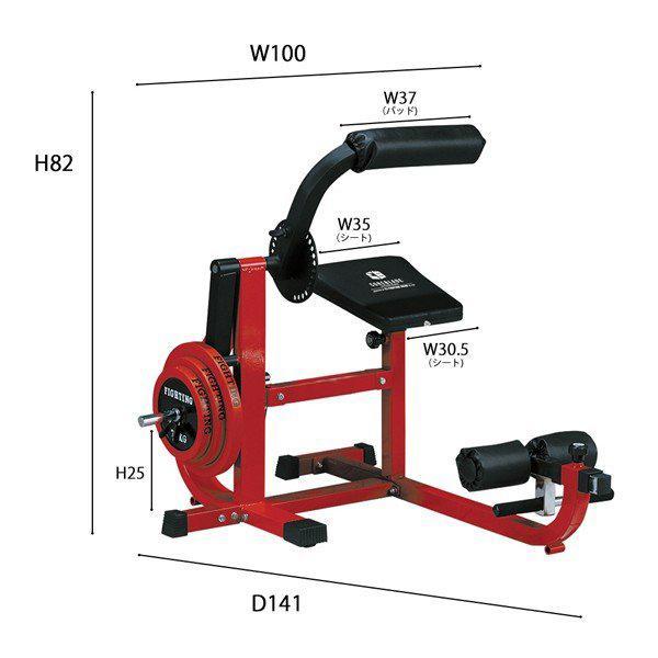 アブバックベンチ−TRUST 《回転抵抗式採用》 / 腹筋 背筋 トレーニング 筋トレ*|fightingroad|04