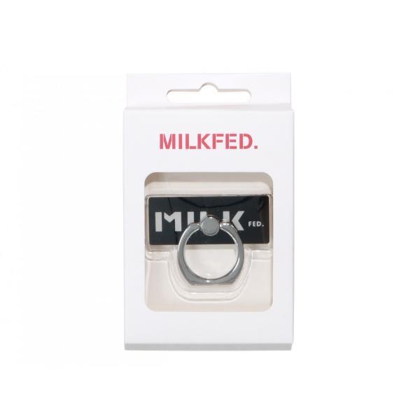 【クーポンで10%OFF!】ミルクフェド MILKFED バンカーリング SMART PHONE RING BAR 03181089 スマートフォン アクセサリー|figure-corners|04