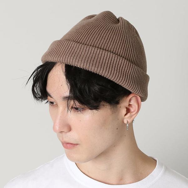 クレプスキュール crepuscule 帽子 ニットキャップ knit cap 2 1901-009 メンズ キャップ|figure-corners|02