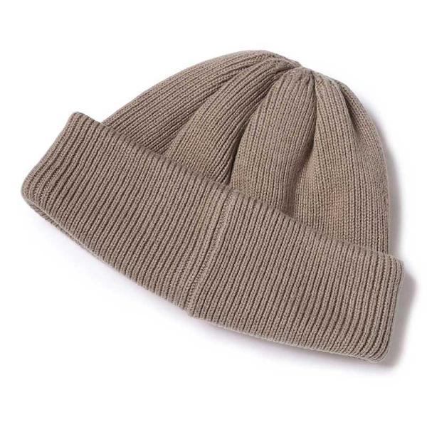 クレプスキュール crepuscule 帽子 ニットキャップ knit cap 2 1901-009 メンズ キャップ|figure-corners|03