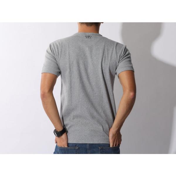 【ポイント10倍】アヴィレックス AVIREX デイリー ショートスリーブ Vネック ティーシャツ DAILY S/S RIB V NECK T 6143501|figure-corners|13