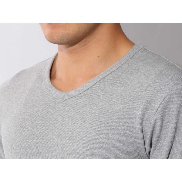 【ポイント10倍】アヴィレックス AVIREX デイリー ショートスリーブ Vネック ティーシャツ DAILY S/S RIB V NECK T 6143501|figure-corners|15