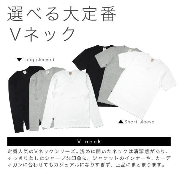 【ポイント10倍】アヴィレックス AVIREX デイリー ショートスリーブ Vネック ティーシャツ DAILY S/S RIB V NECK T 6143501|figure-corners|05