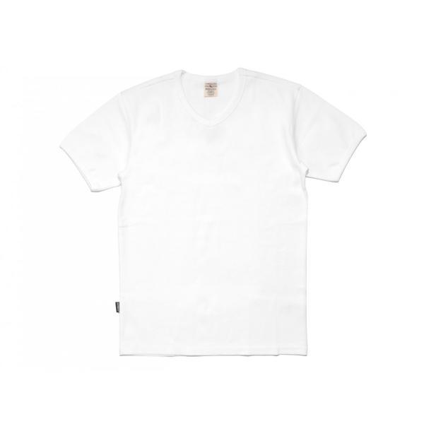 【ポイント10倍】アヴィレックス AVIREX デイリー ショートスリーブ Vネック ティーシャツ DAILY S/S RIB V NECK T 6143501|figure-corners|06