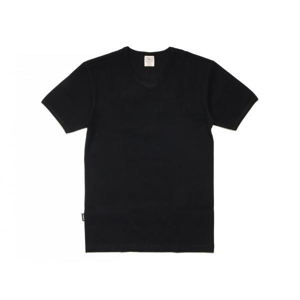【ポイント10倍】アヴィレックス AVIREX デイリー ショートスリーブ Vネック ティーシャツ DAILY S/S RIB V NECK T 6143501|figure-corners|07