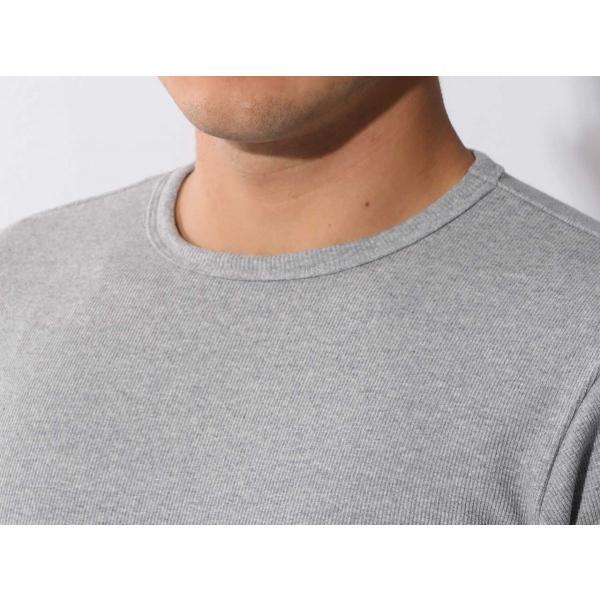 【ポイント10倍】アヴィレックス AVIREX デイリー テレコ クルーネック 長袖 ティーシャツ DAILY L/S RIB CREW NECK T 6153481|figure-corners|14