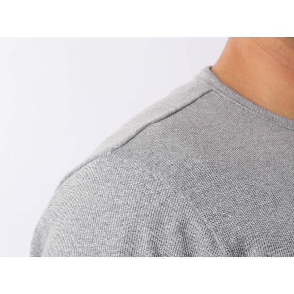 【ポイント10倍】アヴィレックス AVIREX デイリー テレコ クルーネック 長袖 ティーシャツ DAILY L/S RIB CREW NECK T 6153481|figure-corners|15