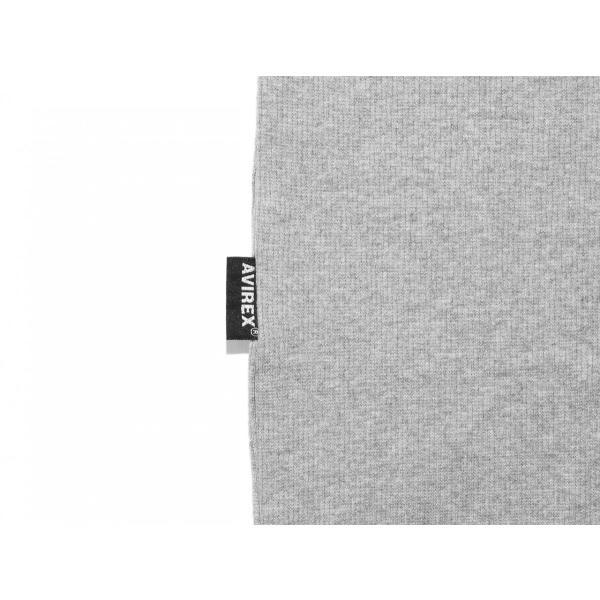 【ポイント10倍】アヴィレックス AVIREX デイリー テレコ クルーネック 長袖 ティーシャツ DAILY L/S RIB CREW NECK T 6153481|figure-corners|09