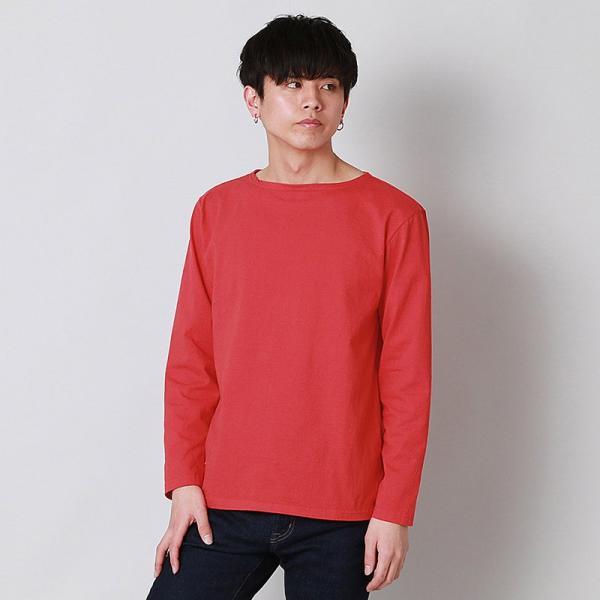 グッドオン GOOD ON  ロングスリーブ ボートネック Tシャツ L/S BOATNECK TEE - GOLT1901 メンズ トップス|figure-corners