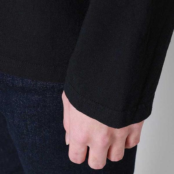 グッドオン GOOD ON  ロングスリーブ ボートネック Tシャツ L/S BOATNECK TEE - GOLT1901 メンズ トップス|figure-corners|06