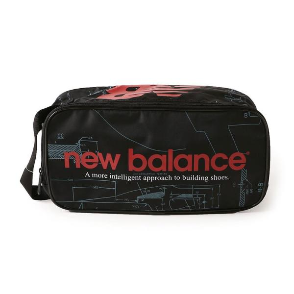 【ポイント3倍】ニューバランス NEW BALANCE JABL8706 プリントシューズケース - JABL8706 figure-corners