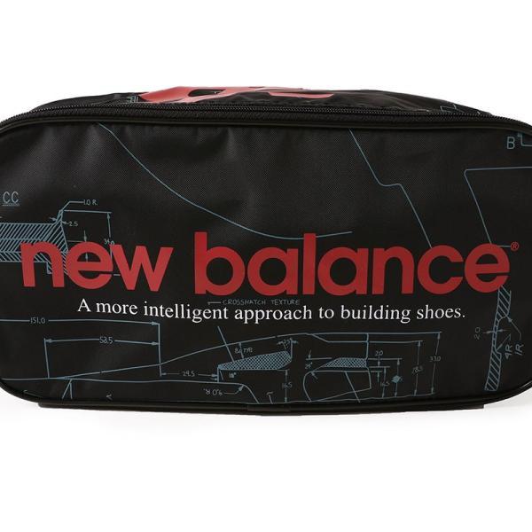 【ポイント3倍】ニューバランス NEW BALANCE JABL8706 プリントシューズケース - JABL8706 figure-corners 03