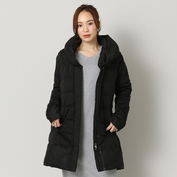 ヨソオウ YOSOOU TWO PIECE COLLAR COAT YO812012 レディース アウター|figure-corners|02