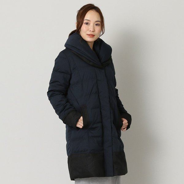 ヨソオウ YOSOOU TWO PIECE COLLAR COAT YO812012 レディース アウター|figure-corners|06