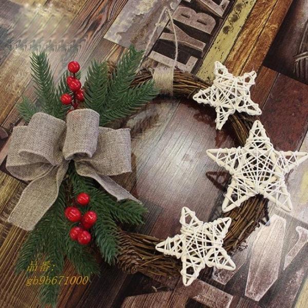christmas クリスマス クリスマスリース ドア飾り 玄関飾り クリスマス装飾 花輪|fihone|02