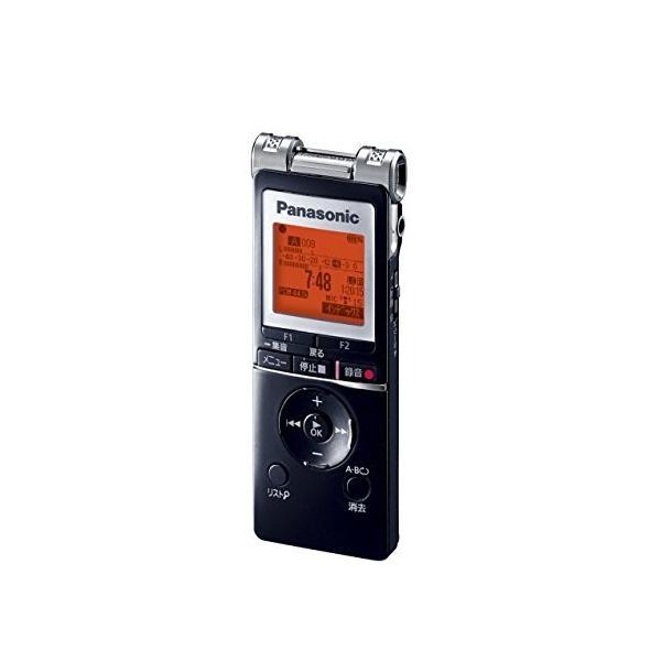 パナソニック ICレコーダー 4GB ブラック RR-XS455-K|fiinet