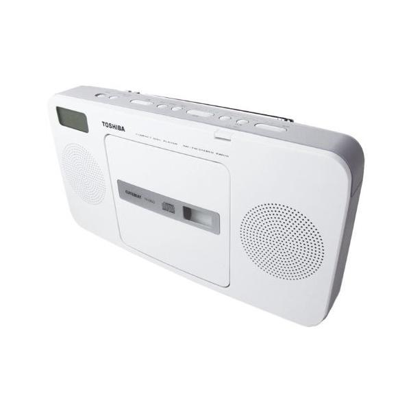 東芝 CDラジオ (グレー) TY-CR22(H)