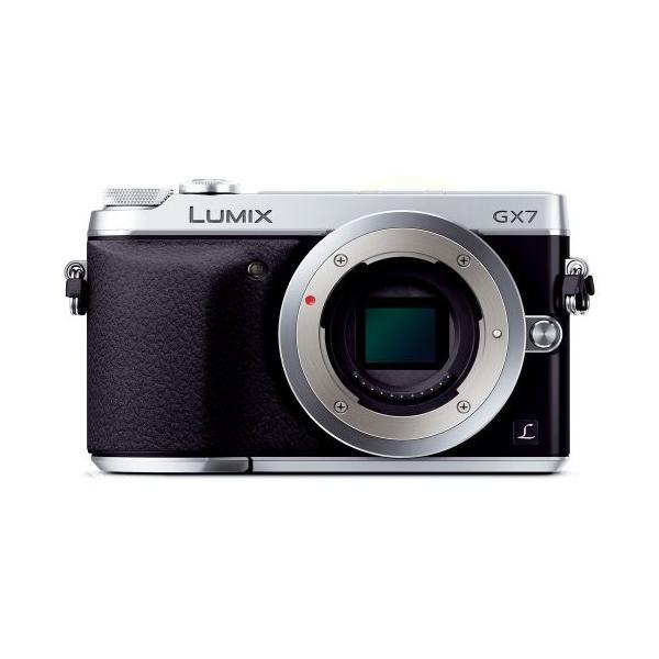パナソニック ミラーレス一眼カメラ ルミックス GX7 ボディ シルバー DMC-GX7-S