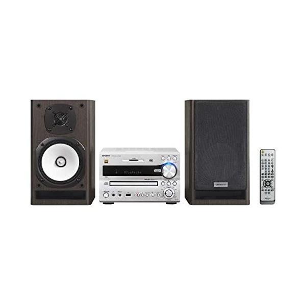 オンキヨー(Onkyo) ミニコンポ X-NFR7FX(D) Bluetooth/CD/SD/USB/ハイレゾ対応 シルバー 【国内正規品】