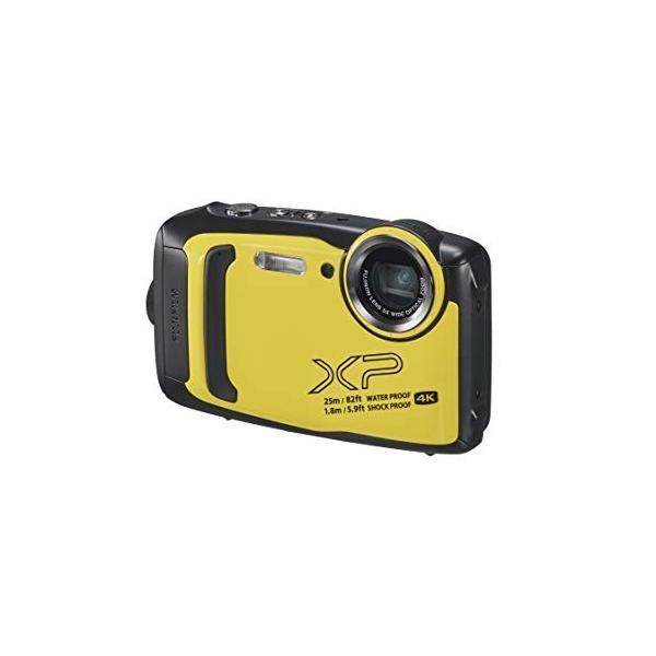 富士フイルム デジタルカメラ XP140 イエロー FX-XP140Y