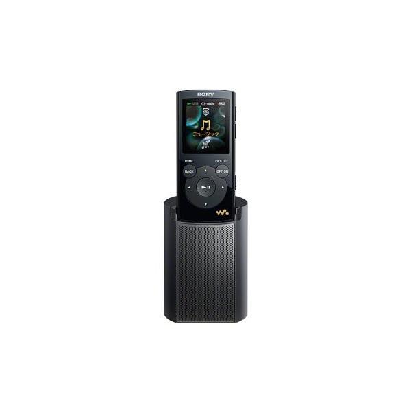 SONY ウォークマン Eシリーズ 2GB スピーカー付 ブラック NW-E062K/B