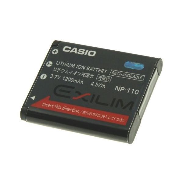 CASIO EXILIM デジタルカメラ用充電池 NP-110
