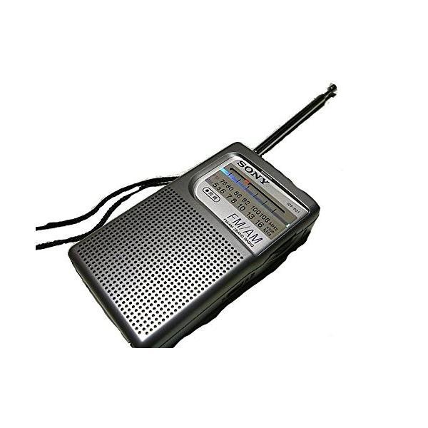 SONY FM/AMハンディーポータブルラジオ ICF-P21
