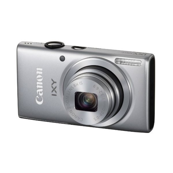 Canon デジタルカメラ IXY 100F(シルバー) 広角28mm 光学8倍ズーム IXY100F(SL)