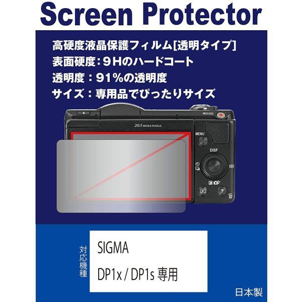 SIGMA DP1x / DP1s専用 液晶保護フィルム(高硬度フィルム 透明)