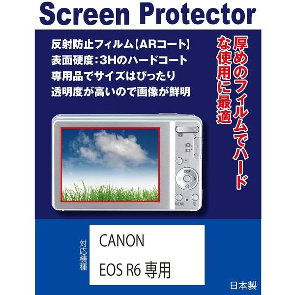CANON EOS R6専用 液晶保護フィルム(反射防止フィルム・ARコート)