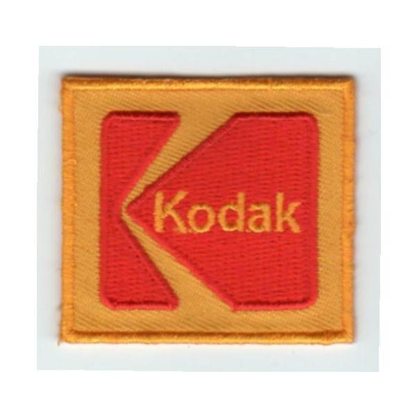 刺繍ワッペン(コダック/Kodak)