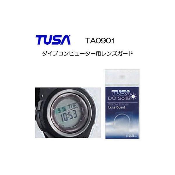 TUSA(ツサ) TA0901 ダイブコンピューター用レンズガード レンズ面を保護する シールタイプ IQ1202 IQ1203 IQ1204用