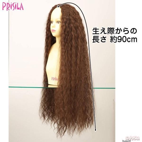 ボリュームワッフルHULA HULA-20 フラウィッグ PRISILA プリシラ つけ毛 かつら ウィッグ ウィック ウイッグ コスプレ 仮装 エクステ ハワイ ダンス