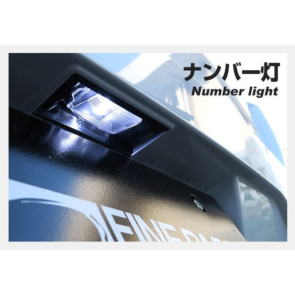 LED ナンバー灯 T10 ウェッジ球 送料無料 ホワイト 白色 1個|finepartsjapan|05