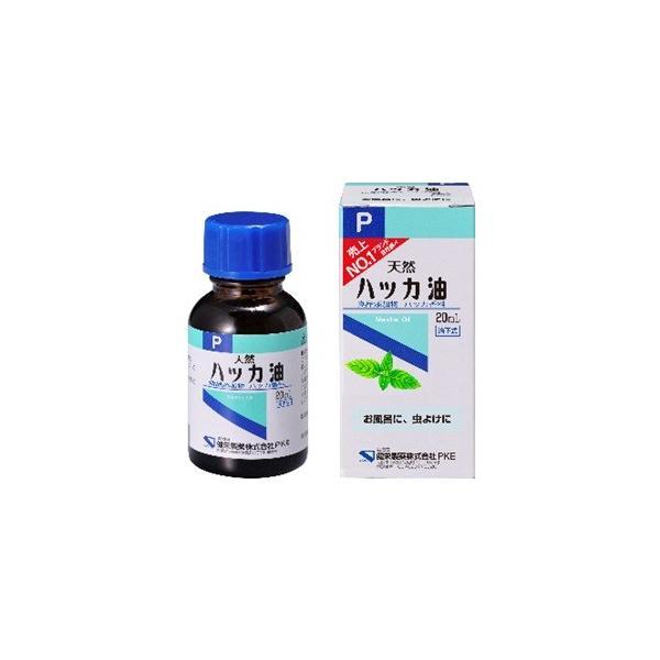 -「健栄製薬」ハッカ油滴下式20mL「衛生用品」