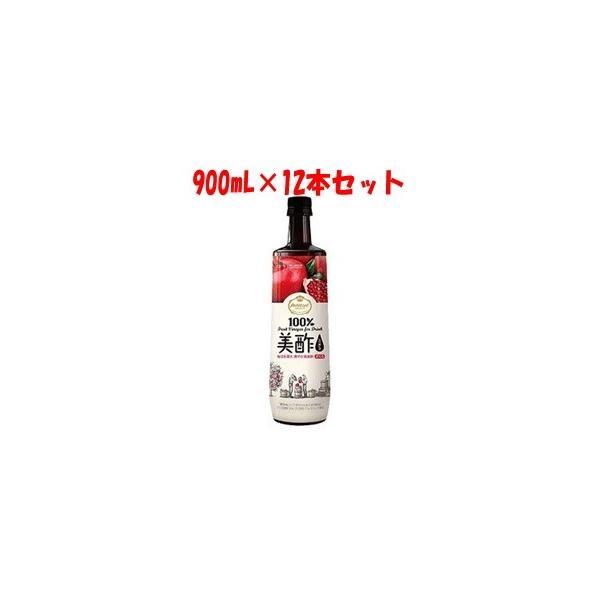 「シージェイジャパン」 美酢 (ミチョ) ざくろ 900mL×12本セット 「フード・飲料」