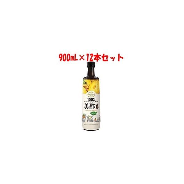 「シージェイジャパン」 美酢 (ミチョ) パイナップル 900mL×12本セット 「フード・飲料」